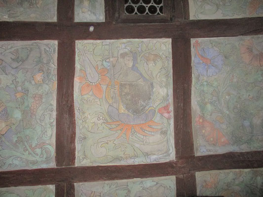 Wandmalereien aus dem frühen Spätmittelalter