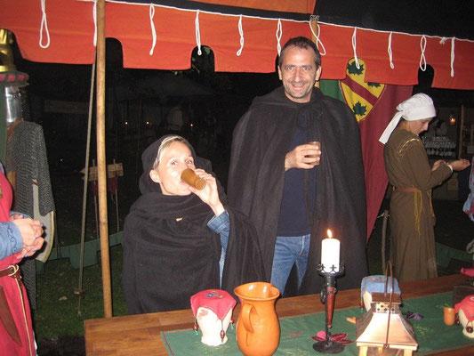 Betty und Alex, auch zwei gern gesehene Gäste in unserem Lager.