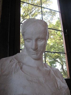 Die sagenhafte Totenmaske der Hildegard von Egisheim die Stammmutter der Staufer
