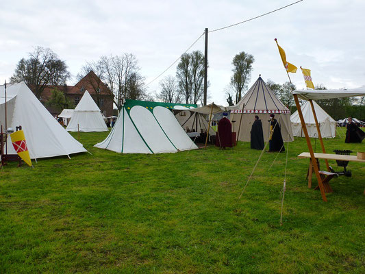 Lager des deutschen Ritter Convents