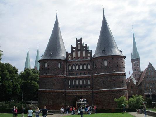 Das Holstentor eines der bekanntesten Baudenkmäler Deutschlands