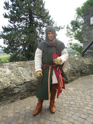 Der erste Dienst im Auftrag unserer Herren in der Kaiserpfalz zu Wimpfen.