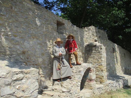 Zwei Pilger