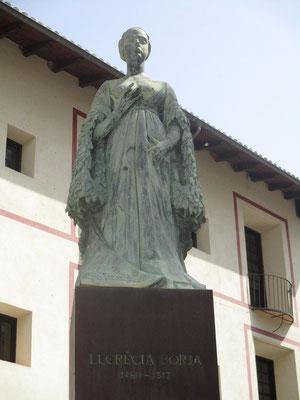 Lucrezia Borja 1480 - 1519 Unheheliche Tochter des Papstes Alexandre VI