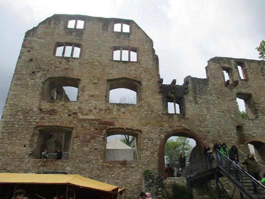 Tolles Ambiente auf der Burg Lanskron.