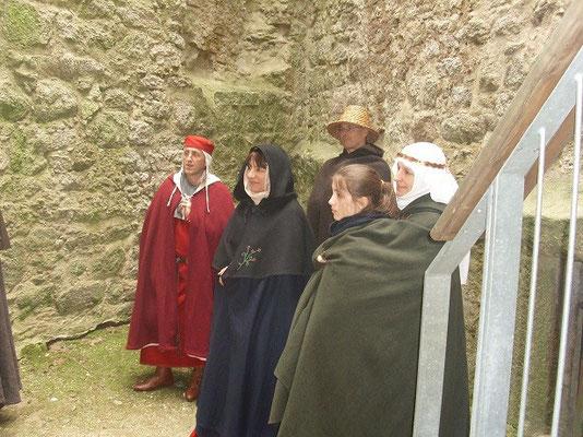 Ein ganzes Buch wurde über die Sagen der Burg geschrieben.