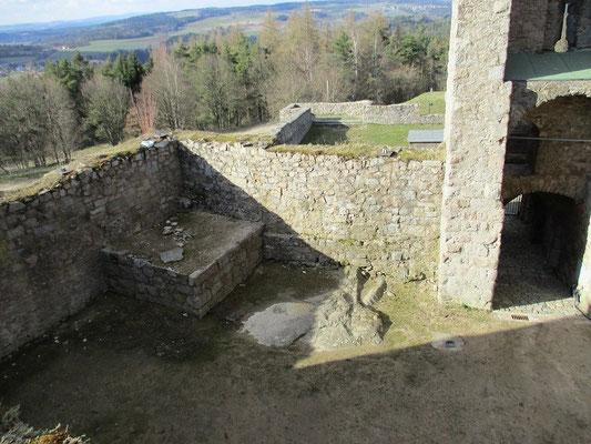 Die Reste des Faulturms, bis heute noch nicht gänzlich erforscht, beim graben könnte man also noch auf menschliche Überreste einstiger Inhaftierter stossen.