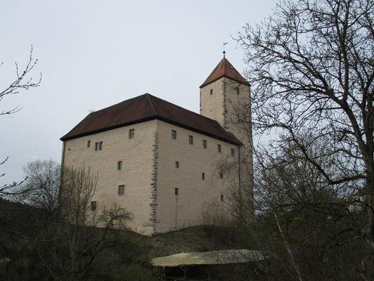 Burg Trausnitz im Tal eine geschichtsträchtige Anlage.