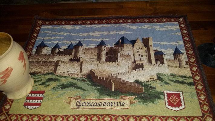 Mitbringsel aus Carcasonne