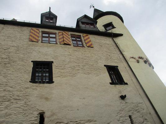Die Burg ist sehr schön