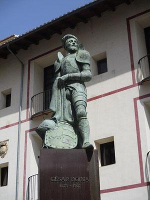 Cesar Borja 1473 - 1507 Lebte in italien und führte 1500 einen Stierkampf auf dem Petersplatrz auf!
