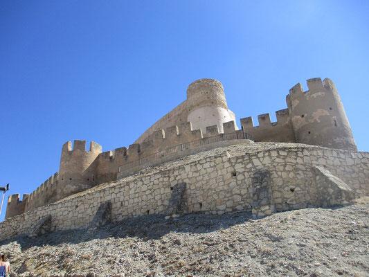 Die Maurische Burg Biar aus dem 12.Jahrhundert