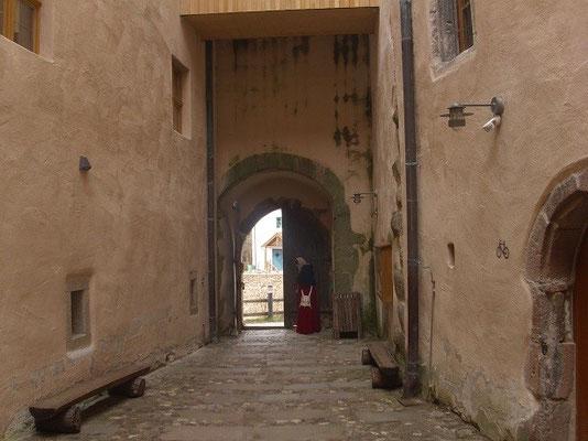 1255 wurde sie zur herzöglichen Residenz ausgebaut.