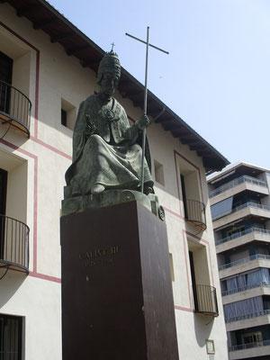Calix III  1378 - 1458 Papst von 1455 bis 1458