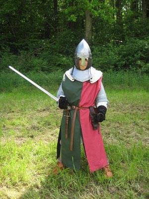 Bis der Tag kam, an dem die Ausbildung mit dem Schwert begann.