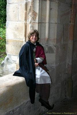 Aber auch Besuche im Kloster Lorch, zu erlernen das Lesen und Schreiben gehörten zur Ausbildung