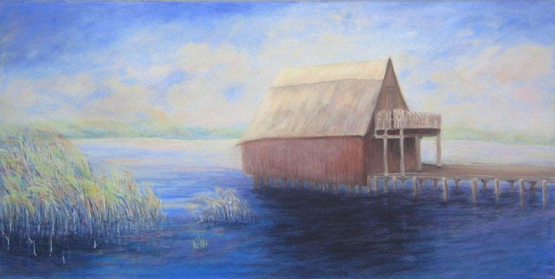 .-. Bootshaus am Plauer See