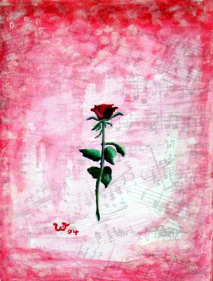 .-. Kleine langstielige Rose