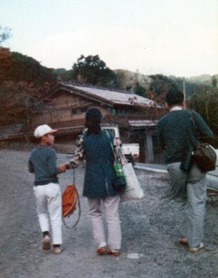 店長さんが幼い頃 家族みんなで崎まで徒歩の旅♪ みんなでどんな話をしながら歩いたのかな~