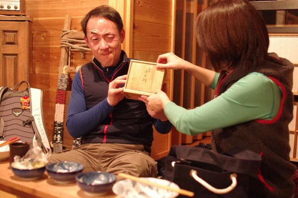 日本酒マイスターにぴったりの送別の品