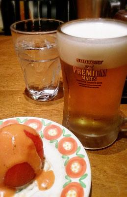 トマトと麦酒 意外な組み合わせ
