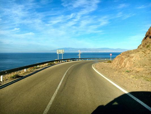 weiter gehts zum Cabo de Gata
