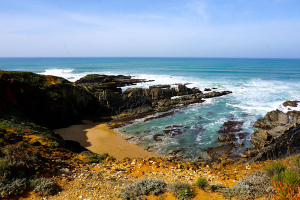 schöne ,felsige Westküste Portugals