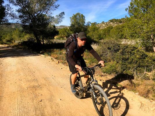 Biketour durch den Park