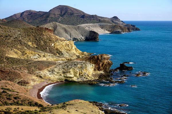 Wunderschöne Vulkanische Küste