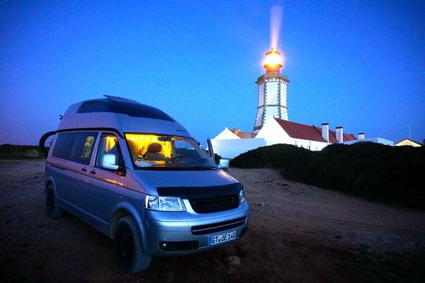 Eine Nacht am Leuchtturm hat was! Cabo Espichel