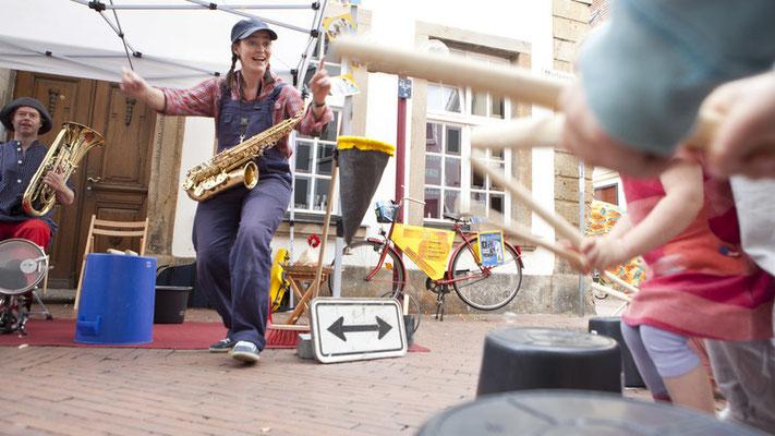 Osnabrücker Samsatg 2013 - Straßenkultur mit Kinderprogramm