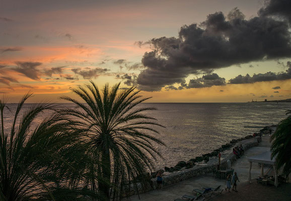 sunset-urlaub-curacao-ferienhaus-karibik