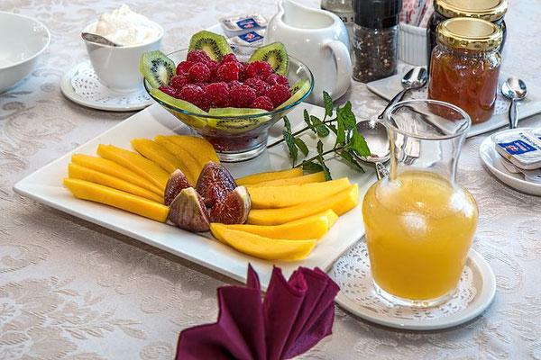 Frühstück-Urlaub-Curacao-Ferienhaus-Karibik-Villapark-Fontein