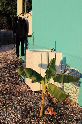 Spülbecken-Urlaub-Curacao-Ferienhaus-Karibik-Villapark-Fontein
