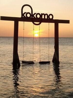 Sonnenuntergang am Kokomo