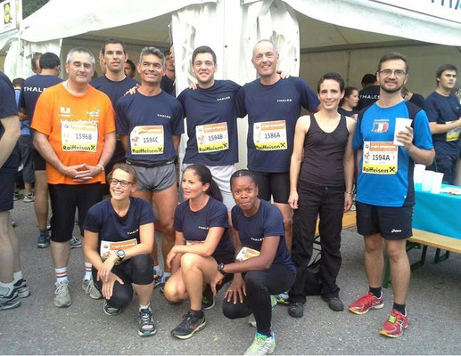 Vienna Business Run 2014 sur l'invitation de l'entreprise Thales
