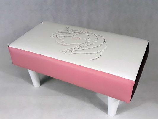 Banquette Licorne - Rêves en tête - déco chambre enfant