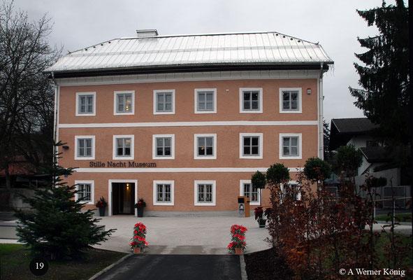 Stille Nachtmuseum in Oberndorf