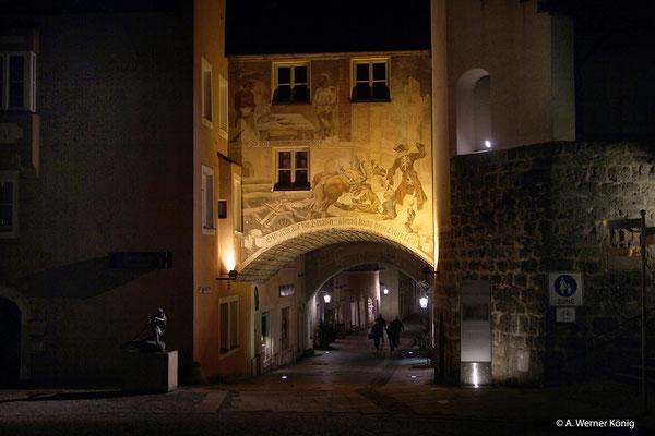 Burghausen: Tor zu Unteren Stadt