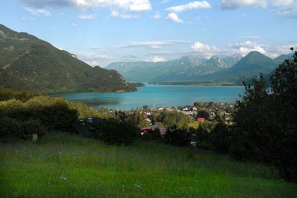 St. Gilgen Blick auf den Wolfgangsee