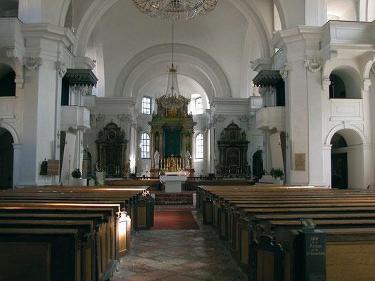 Kirche von Hallein
