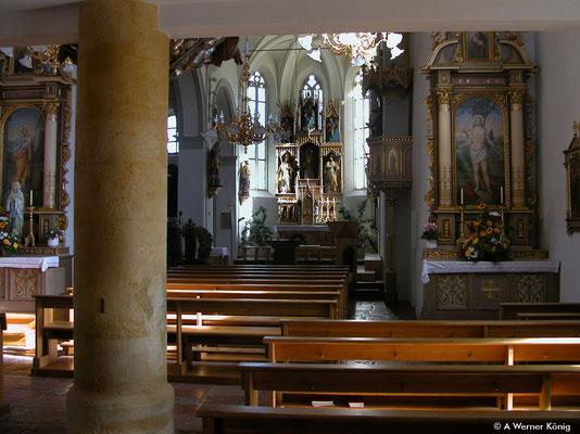 Wagrain, Kirche innen