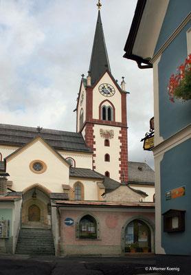 Kirche von Mariapfarr