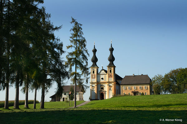 Oberndorf: Wallfahrtskirche Maria Bühel.