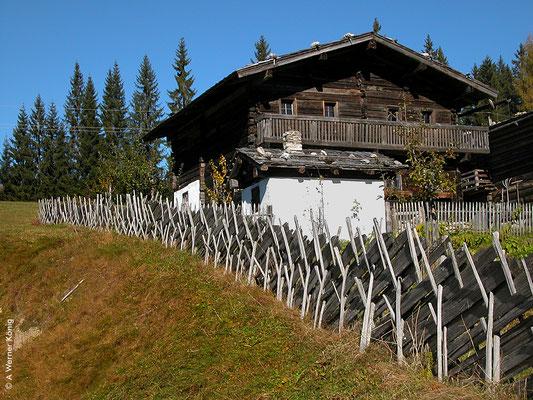 Wagrain, im Weberland. Ein Bauernhof wie sie Joseph Mohr erlebte.
