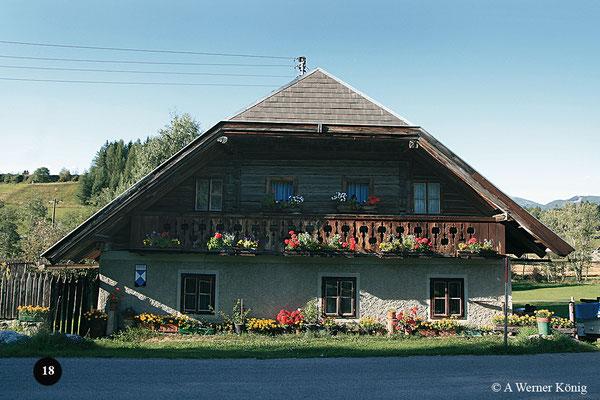 Wohnhaus von Joseph  Mohrs Großvaters in Mariapfarr