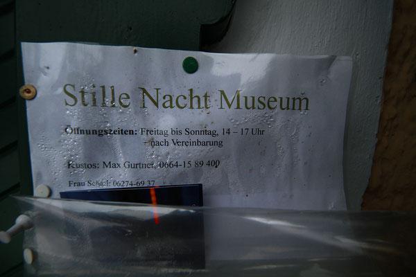 Arnsdorf: Öffnungszeiten vom Stille Nacht Museum