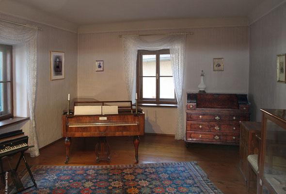 Gruber Zimmer im Stille Nacht Museum Hallein
