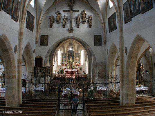 Mariapfarr: Kirche innen