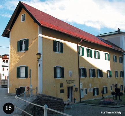 Felix Gruberwohnhaus und jetzige Stille Nachtmuseum in Hallein
